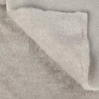 Искусственный мех 100% полиамид, плотность 380г/м2, 50*50 см (св. серый)