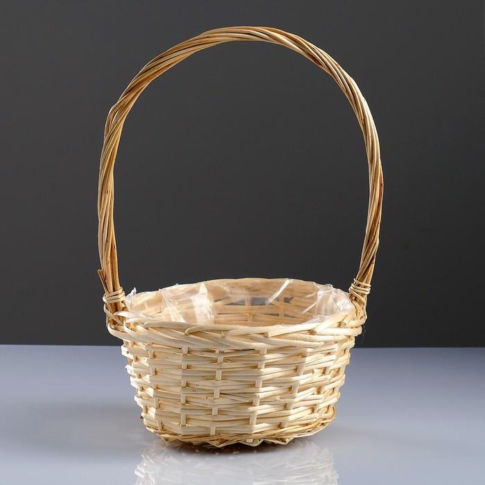Корзина «Плетёнка»,  24×13/41 см, ива
