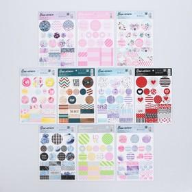 """Sticker set """"Patterns"""", 14 × 21 cm"""