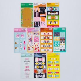 A set of labels Dividers, 11 × 18 cm