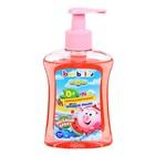 Мыло жидкое Bambolina Смешарики для детей с ароматом арбуза, 250 мл.