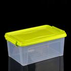 Контейнер для хранения 8,5 л, прямоугольный, цвет МИКС