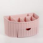 Органайзер IDEA «Вязание», с ящиком, цвет чайная роза - фото 308333897