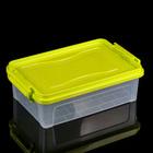 Контейнер для хранения 3,6 л, прямоугольный, цвет МИКС