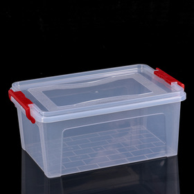 Контейнер для хранения с крышкой 8,5 л, 36×23,5×15 см, цвет прозрачный