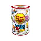 """Карамель Chupa-Chups """"Ты любишь меня?"""" с фруктами и колой, 12 г (жел. упак)"""