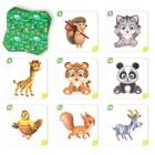 Настольная развивающая игра «Мемо для малышей. Животные», 50 карт - фото 1041107