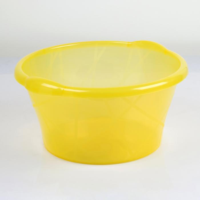 Таз пищевой 11 л, цвет жёлтый