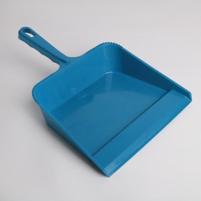 Совок для мусора квадратный, цвет МИКС