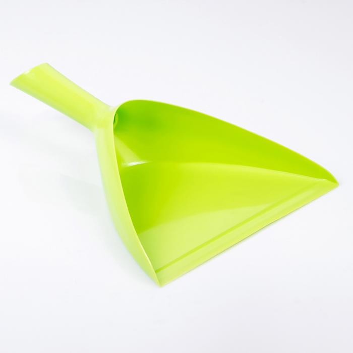 Совок для мусора круглый, цвет МИКС