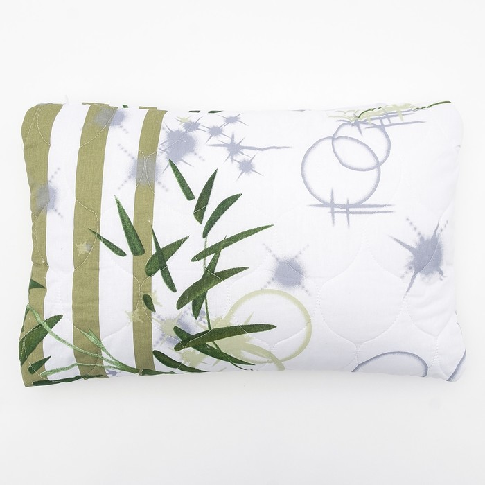 Подушка «Бамбук», 40х60 см, цвет МИКС, поплин - фото 105559394