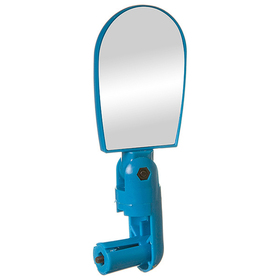 Rear view mirror STG BC-BM101 c mount in steering wheel, blue color