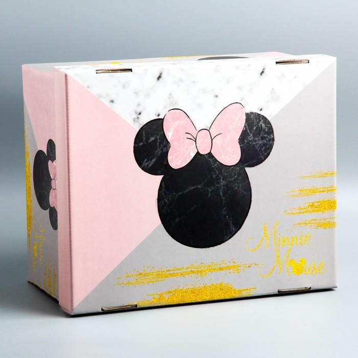 """Складная коробка """"Минни"""", Минни Маус, 30,5 х 24,5 х 16,5"""