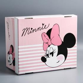"""Складная коробка """"Minnie"""", Минни Маус, 30,5 х 24,5 х 16,5"""