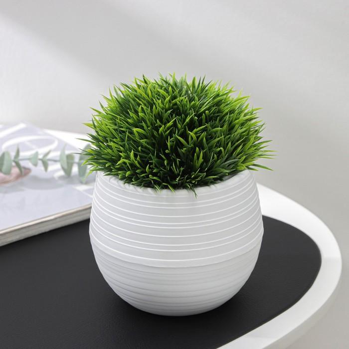 Кашпо «Дуэт», 500 мл, цвет белый