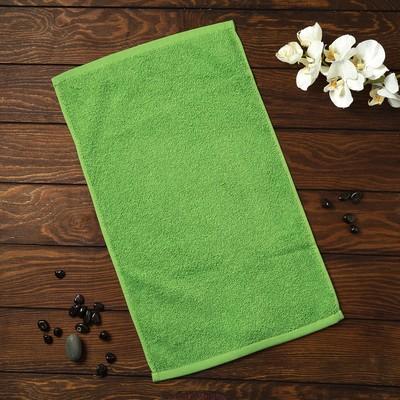 Полотенце махровое Spany Grace, 30х30 см, травяной, 360гр/м²