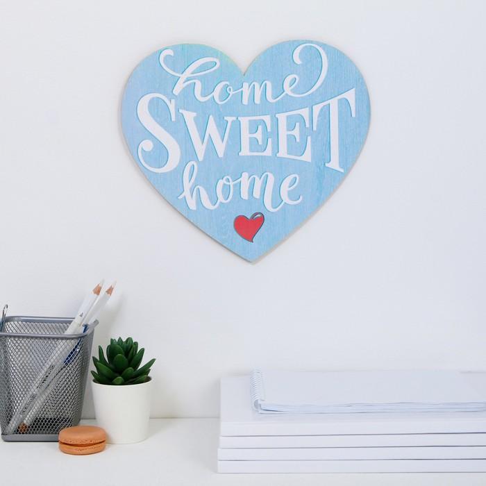 """Интерьерные буквы """"Home sweet home"""" 25,3 х 22,5 см"""