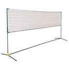Badminton net, the thread is 1.4 mm acheck 30 x 30 mm, colour white