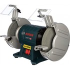 Точильный станок Bosch GBG 60-20, 600 Вт, 3600 об/мин, D=200 мм, 200х32 мм, толщина 25 мм