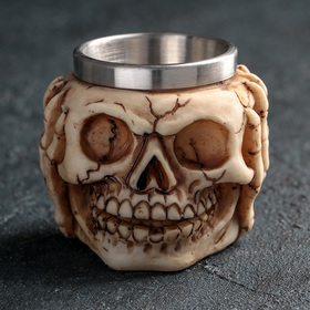 A stack of 70 ml Skull