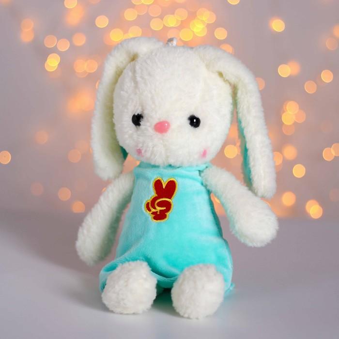 Мягкая игрушка «Зайка», цвета МИКС - фото 1055746