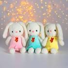 Мягкая игрушка «Зайка», цвета МИКС - фото 1055748