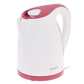 Чайник электрический ENERGY E-285, 2200 Вт, 1.7 л, пластик, розовый