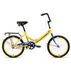 "Велосипед 20"" Altair City, 2018, цвет желтый/синий, размер 14"""