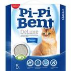 """Наполнитель комкующийся Pi-Pi-Bent """"Делюкс Классик"""", 5 кг (коробка)"""