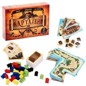 Настольная игра «Картахена»