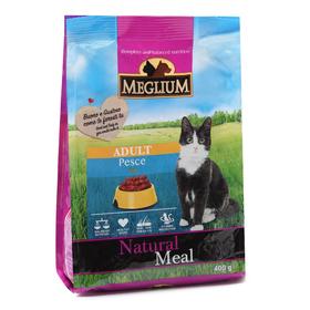 Сухой корм MEGLIUM ADULT для кошек, говядина, 400 г