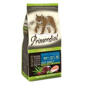 Сухой корм PRIMORDIAL для кошек, беззерновой, лосось/тунец, 6 кг