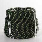 """Верёвка 40 прядная """"Высота 10"""", ПА статика, d=10 мм, 50 м, цвет чёрный"""