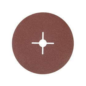 Круг фибровый Matrix 73922, Р80, 180х22 мм, ширина 0.5 мм, 5 шт. Ош