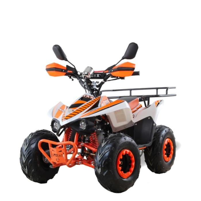 Квадроцикл бензиновый MOTAX MIKRO 110 сс, бело-оранжевый