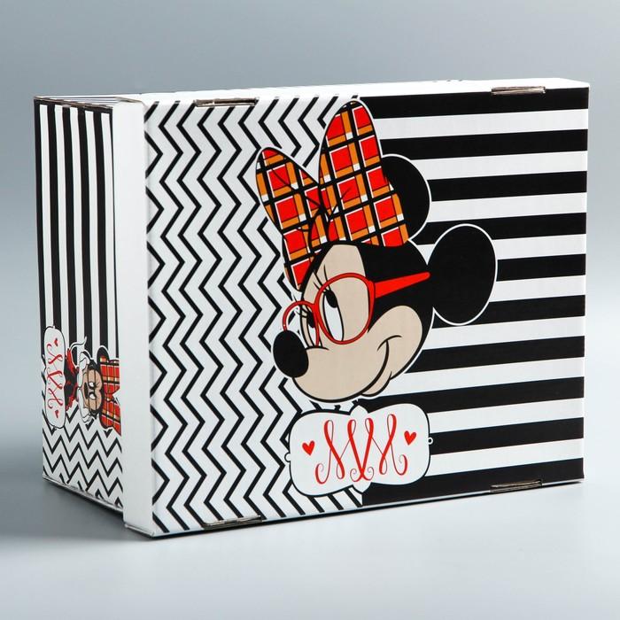Складная коробка, Минни Маус, 30,5 х 24,5 х 16,5