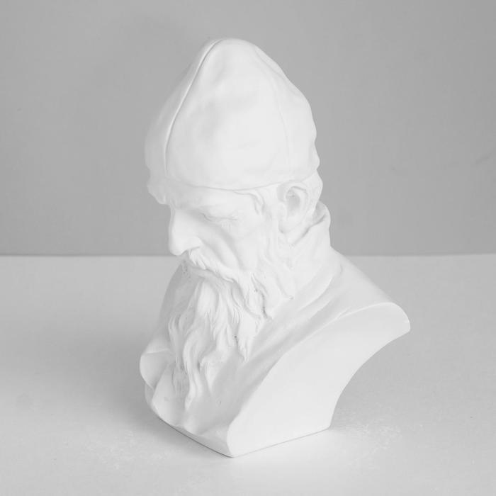 Гипсовая фигура. Известные люди: Бюст Ивана Грозного, 12.5x10x18 см