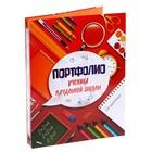 Папка для портфолио ученика начальной школы, 24.5 × 32 см