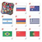 Настольная игра «Мемо Флаги», 50 карточек - фото 105602019
