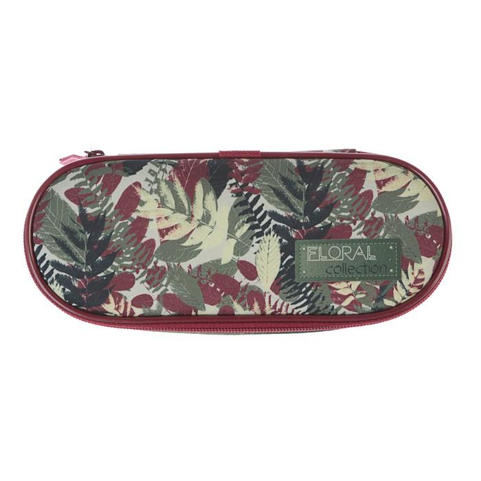 Пенал мягкий футляр ткань 50*210*85 откидная планка ПМК 25-20 дев Floral