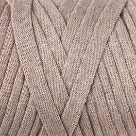 """Пряжа-шнур """"Ribbon"""" 40% полиэстер, 60% хлопок 125м/250гр (768 бежевый)"""