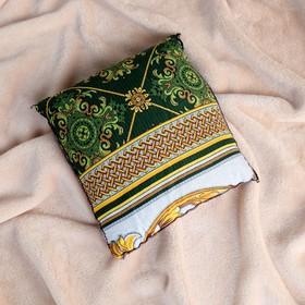Подушка со стружкой можжевельника, сувенирная, 23×23 см, микс - фото 1633179