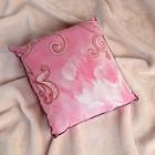 Подушка со стружкой можжевельника, сувенирная, 23×23 см, микс - фото 1633180