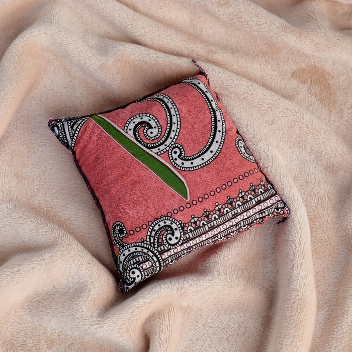 Подушка сувенирная, 15×15 см, можжевельник