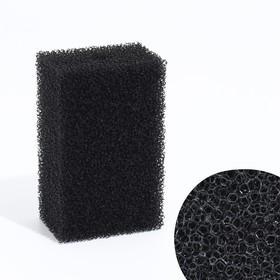Rectangular sponge for filter number 16, open-celled, 6.8x4.6x11cm