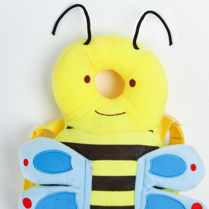 """Рюкзачок-подушка для безопасности малыша """"Пчелка"""""""