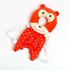 """Рюкзачок-подушка для безопасности малыша """"Мишка"""", цвет красный"""
