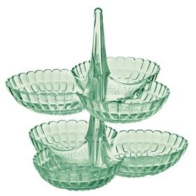 Набор из 2 менажниц Tiffany, зелёный