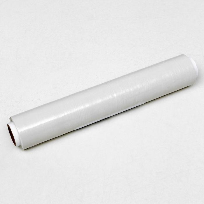 Стретч-пленка, белый, 250 мм х 40 м, 0,2 кг, 20 мкм