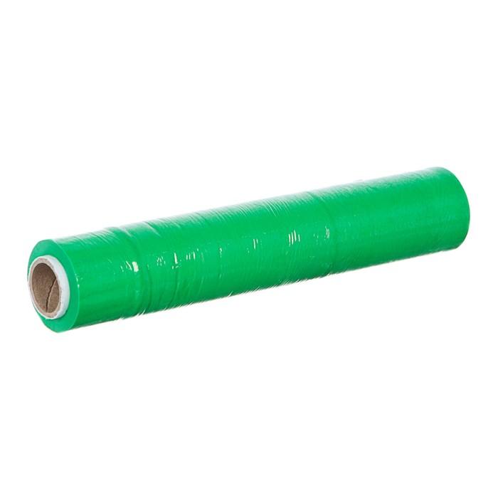 Стретч-пленка, зеленый, 250 мм х 40 м, 0,2 кг, 20 мкм
